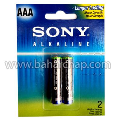 فروشگاه و خدمات اینترنتی بهارچاپ اصفهان-باطری نیم قلمی سونی آلکالاین-SONY Alkaline Battery