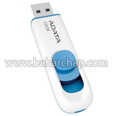 فروشگاه و خدمات اینترنتی بهارچاپ اصفهان-فلش مموری ای دیتا مدل C008 ظرفیت 16 گیگابایت-Adata C008 Capless Sliding USB Flash Drive - 16GB