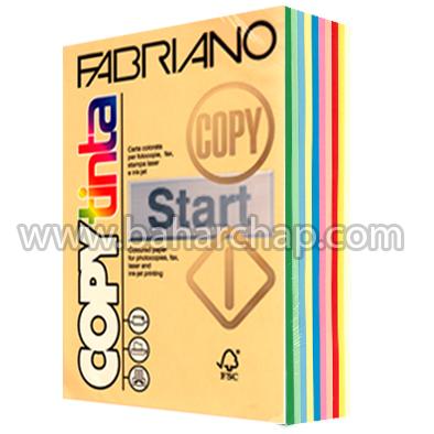 فروشگاه و خدمات اینترنتی بهارچاپ اصفهان-مقوای فابریانو 10 رنگ 160 گرم ایتالیا-