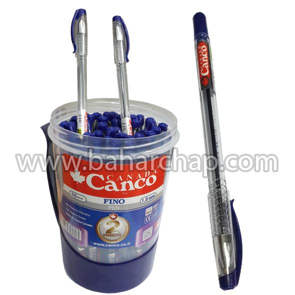 فروشگاه و خدمات اینترنتی بهارچاپ اصفهان-خودکار آبی کانکو اصلی -Canco Pen Blue