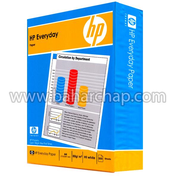 فروشگاه و خدمات اینترنتی بهارچاپ اصفهان-کاغذ اچ پی 80 گرم A4-HP Evryday paper A4 80g