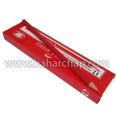 فروشگاه و خدمات اینترنتی بهارچاپ اصفهان-مداد قرمز فابرکاستل-Faber-Castell Pencil Red