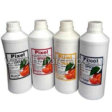فروشگاه و خدمات اینترنتی بهارچاپ اصفهان-ست جوهر اپسون 4 رنگ لیتری PIXEL-Dye Based Printer Ink