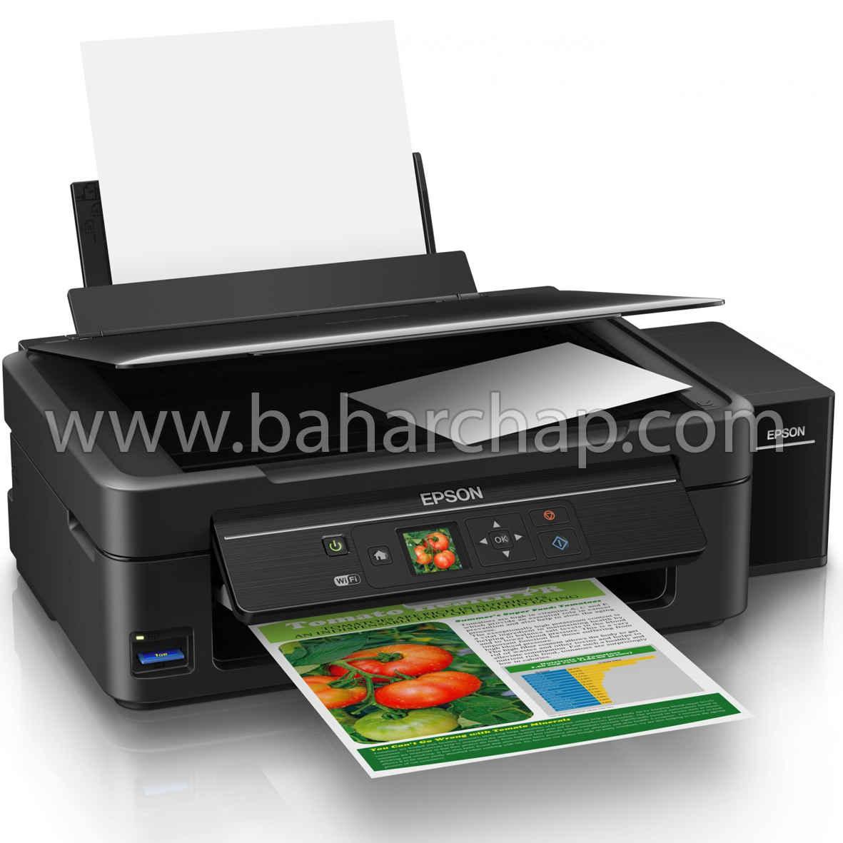 فروشگاه و خدمات اینترنتی بهارچاپ اصفهان-نرم افزار ریست پرینتر اپسون L455-Epson Adjustment program L455
