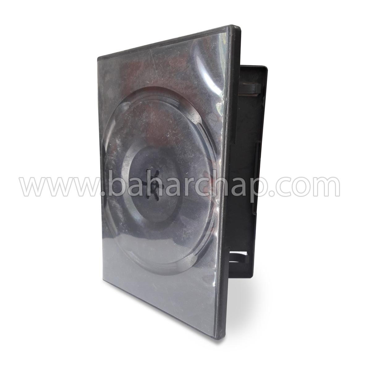 فروشگاه و خدمات اینترنتی بهارچاپ اصفهان-جعبه CD & DVD تکی (مشکی)-CD & DVD Cover