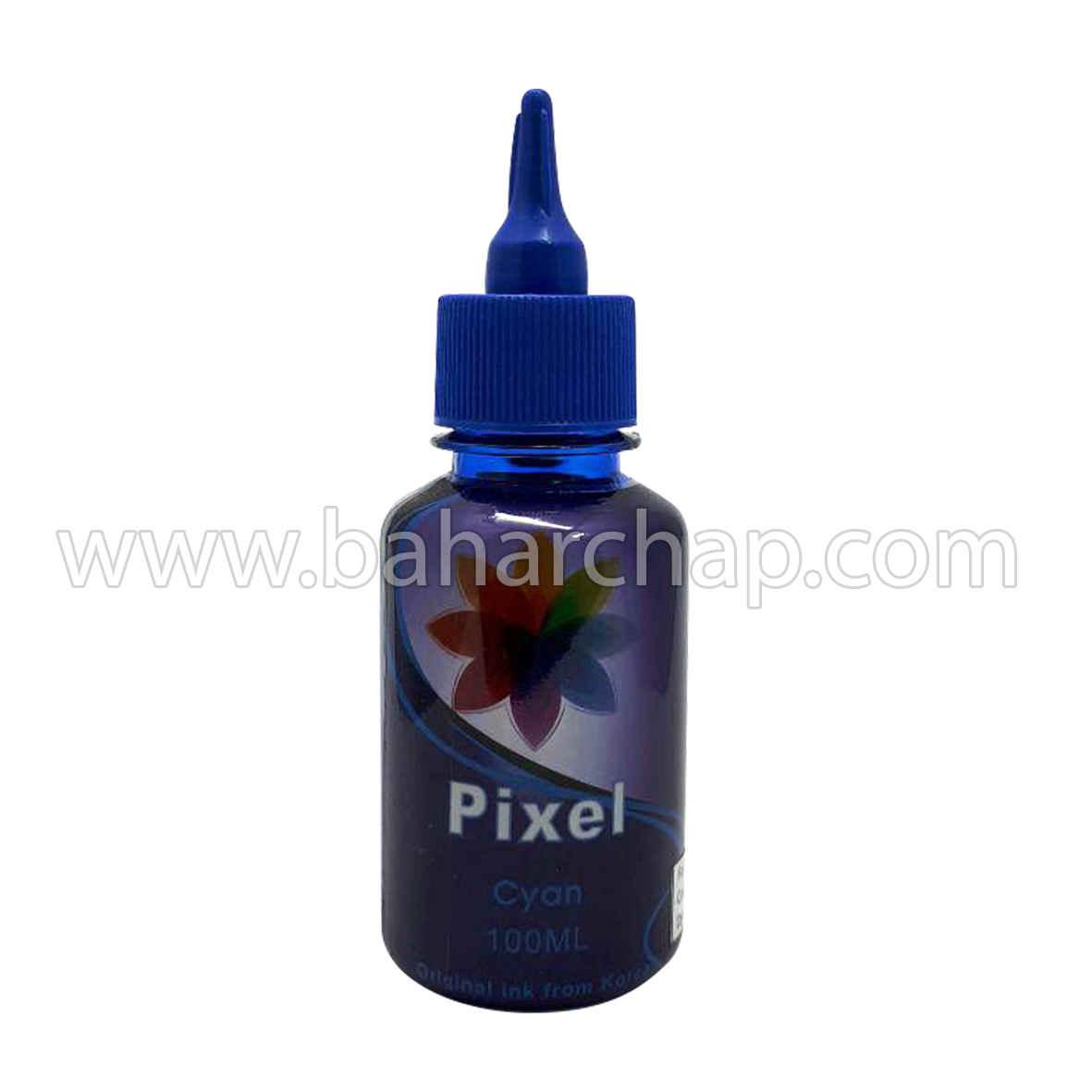 فروشگاه و خدمات اینترنتی بهارچاپ اصفهان-جوهر 100cc آبی اپسون پیکسل-PIXEL epson cyan  ink 100cc