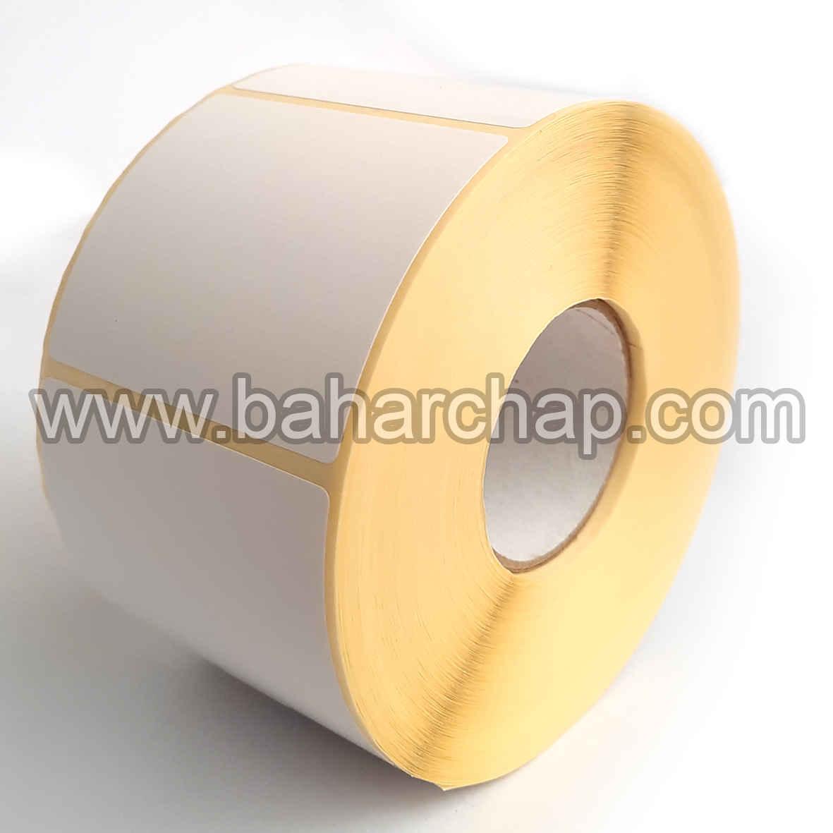 فروشگاه و خدمات اینترنتی بهارچاپ اصفهان-لیبل (برچسب) پستی 55*50-کاغذی-1000 عددی(اداره پست و دفاترپیشخوان)-Sticker Printer  paper 55*50