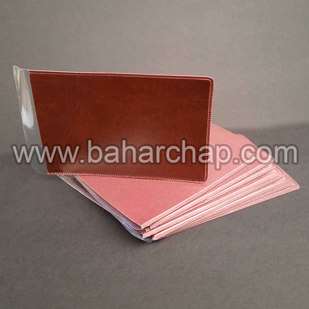 فروشگاه و خدمات اینترنتی بهارچاپ اصفهان-کاور کارت PVC سایز10.5*6.5 (پشت فوم)-pvc cards cover sheet 80*120