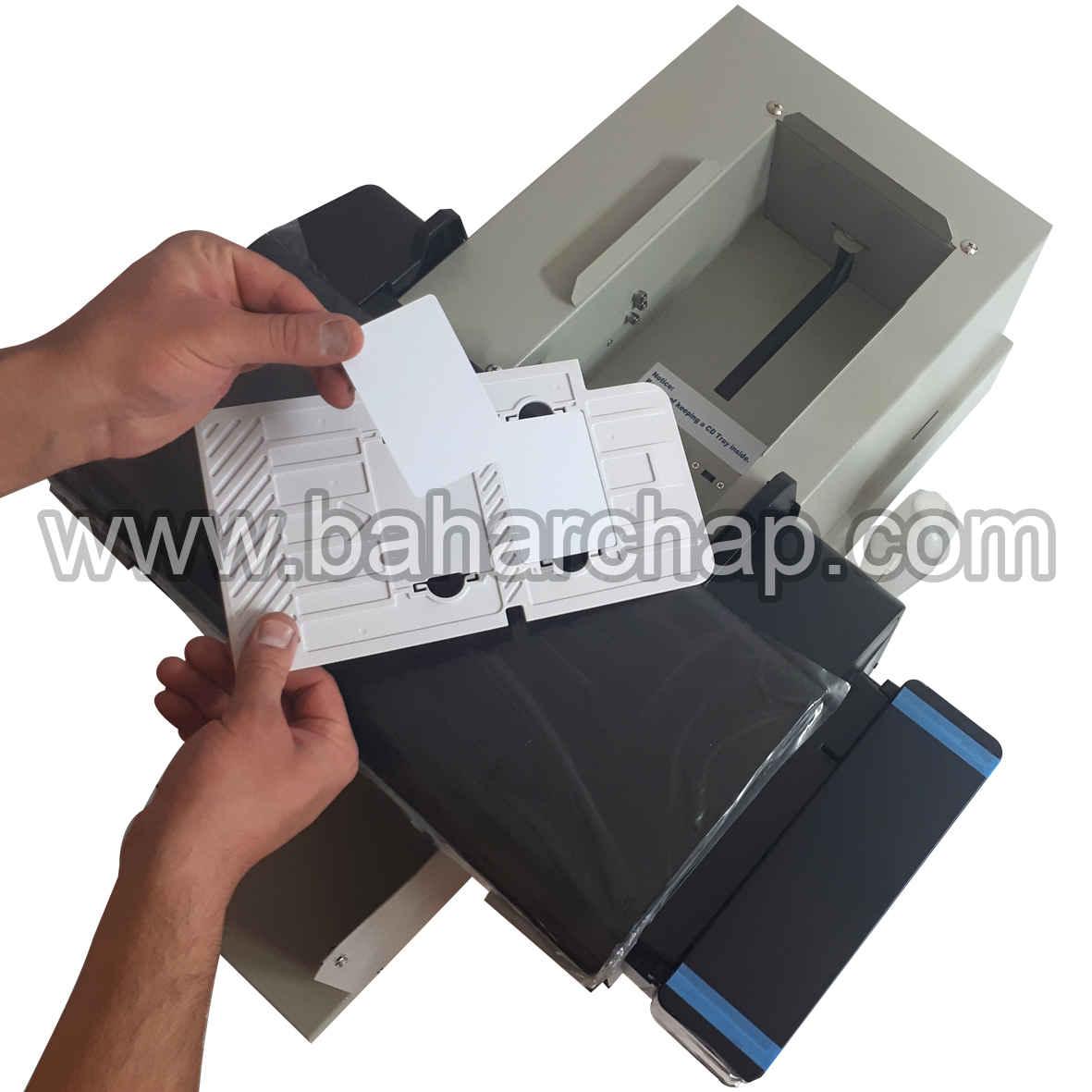 آموزش چاپ کارت pvc با پرینتر اپسون l805