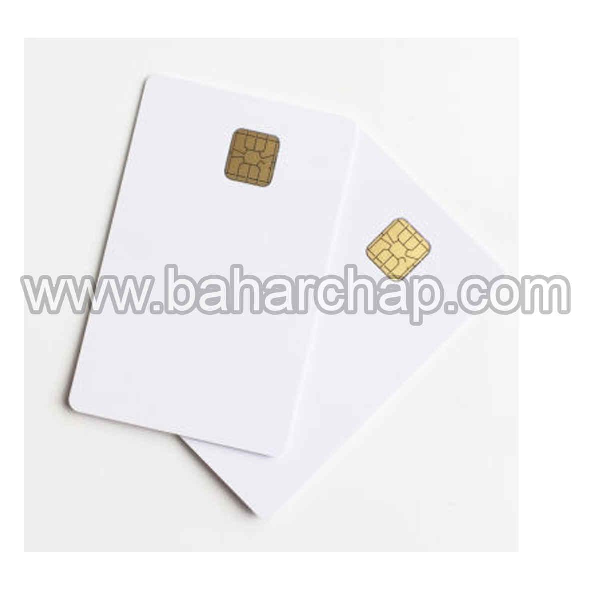 فروشگاه و خدمات اینترنتی بهارچاپ اصفهان-کارت خام PVC چیپدار 4428- PVC Cards with SLE4428 Chip