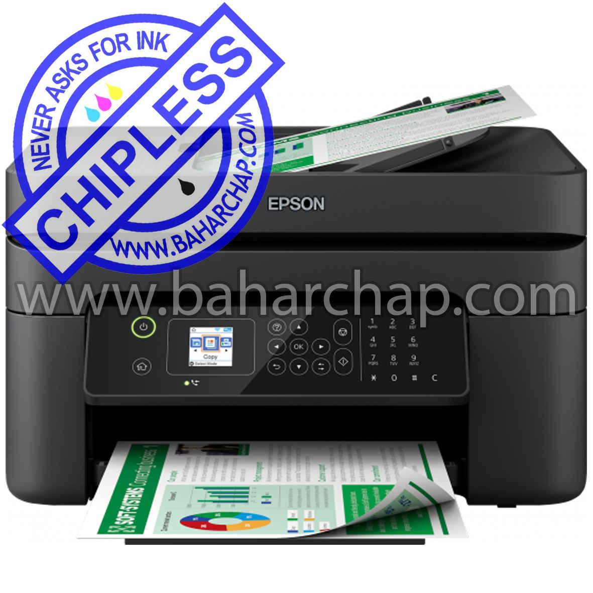 فروشگاه و خدمات اینترنتی بهارچاپ اصفهان-بدون چیپ کردن اپسون WF2830-DWF-epson WF2830-DWFchipless firmware