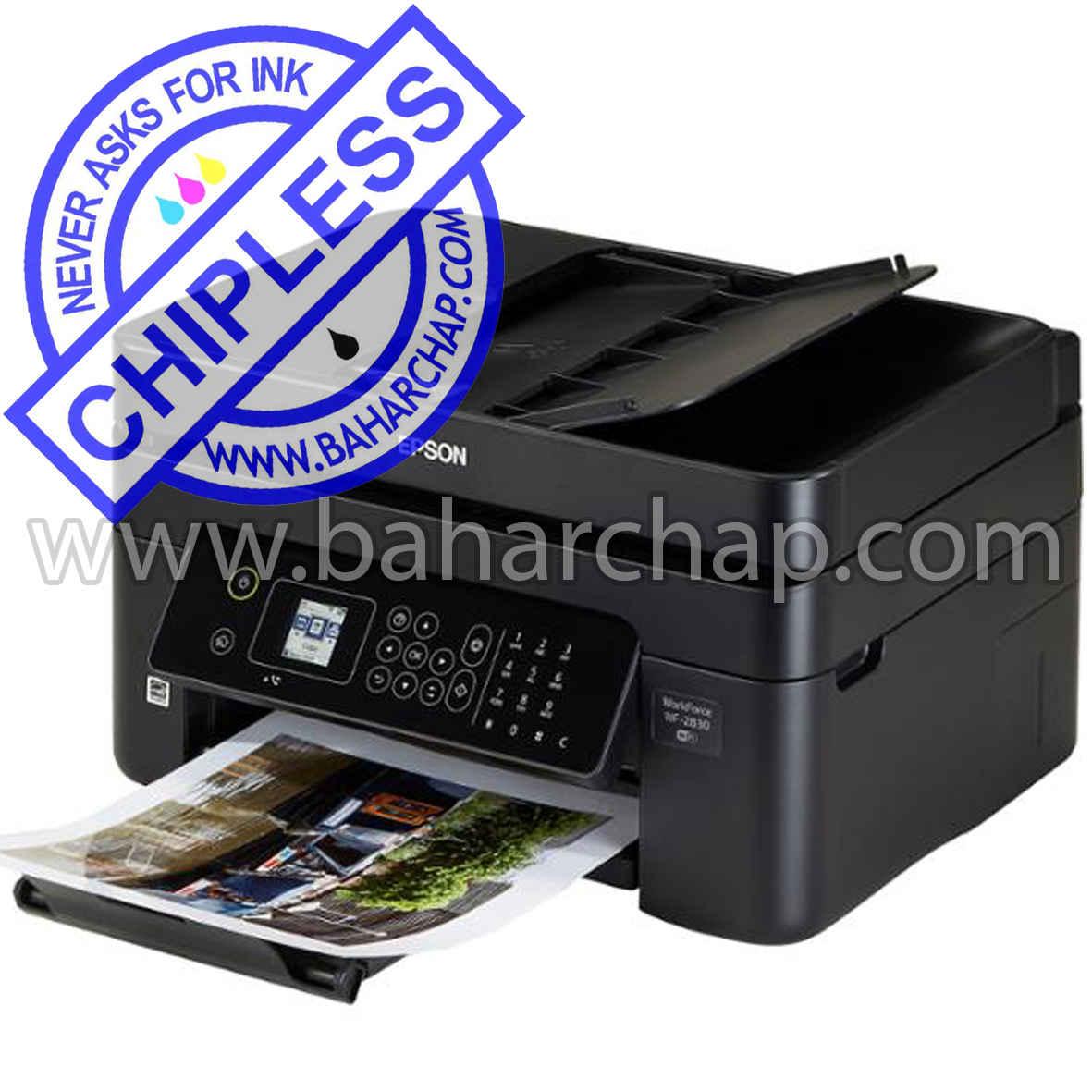 فروشگاه و خدمات اینترنتی بهارچاپ اصفهان-بدون چیپ کردن اپسون WF2835-DWF-epson WF2835-DWFchipless firmware