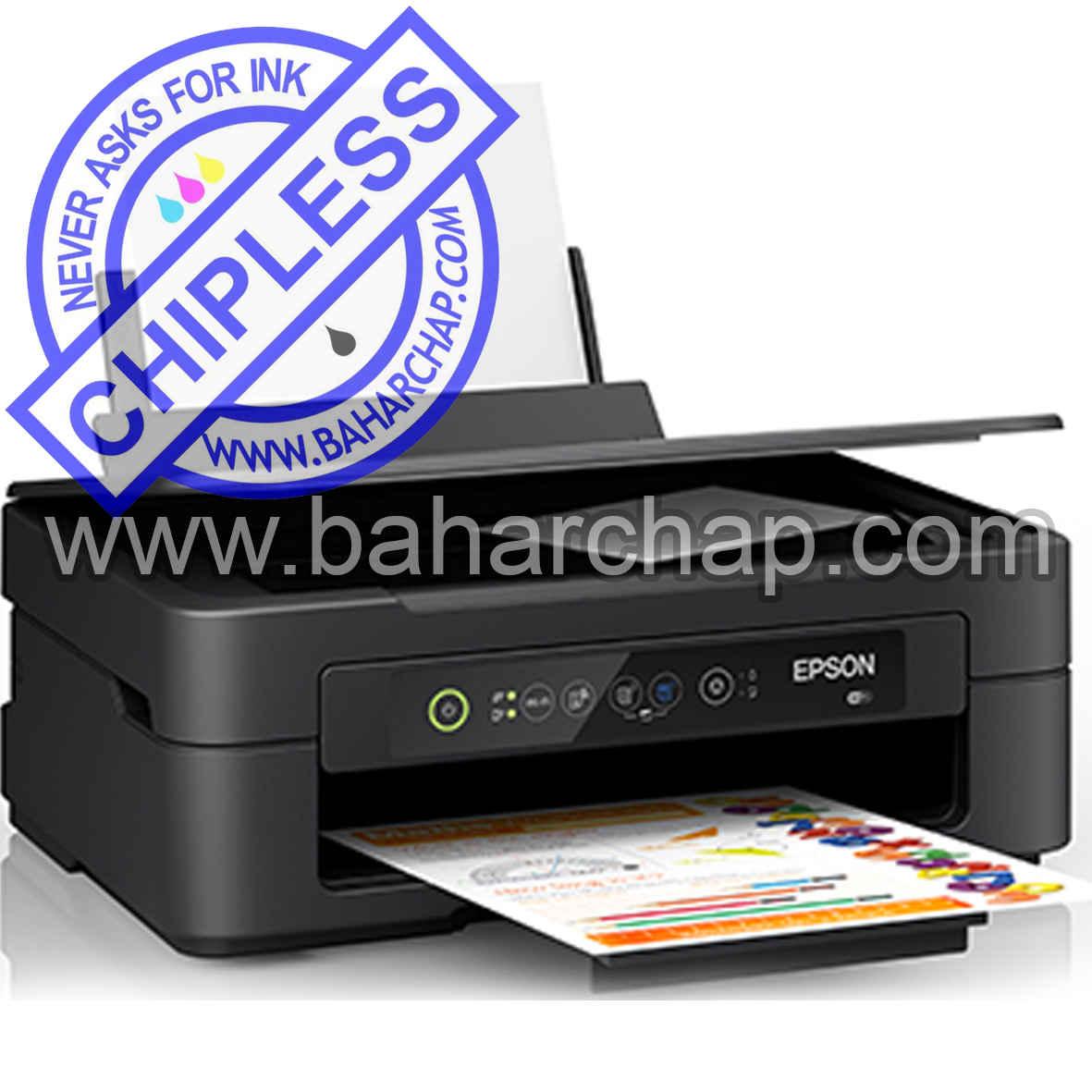 فروشگاه و خدمات اینترنتی بهارچاپ اصفهان-بدون چیپ کردن اپسون XP2101-epson XP2101chipless firmware