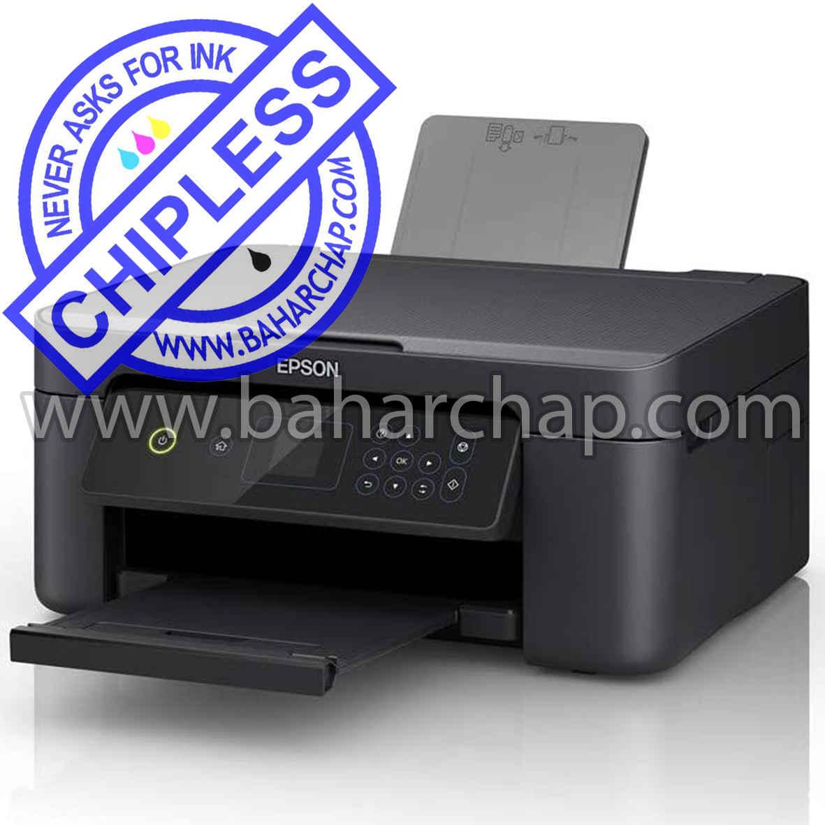 فروشگاه و خدمات اینترنتی بهارچاپ اصفهان-بدون چیپ کردن اپسون XP3105-epson XP3105 chipless firmware