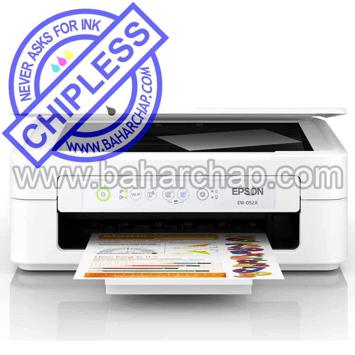 فروشگاه و خدمات اینترنتی بهارچاپ اصفهان-بدون چیپ کردن اپسون EW-052A-epson EW-052A chipless firmware