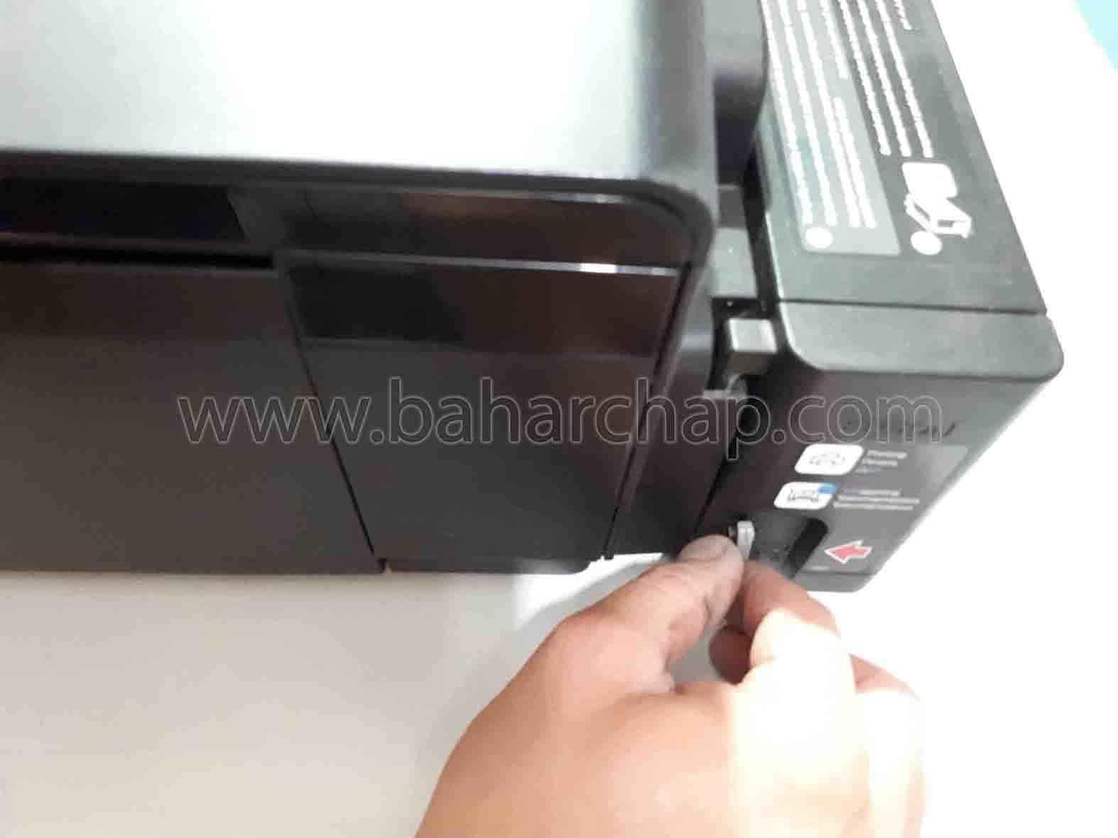 مخزن جوهر اپسون L1800 بستن رنگهای داخل مخزن
