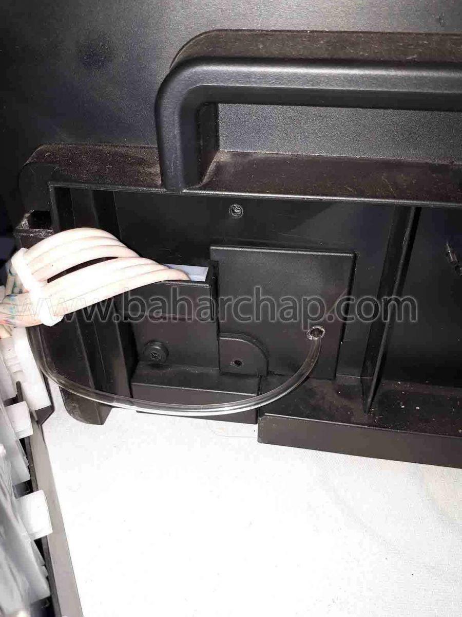 نصب درب مخزن ضایعات جوهر بر روی بدنه پرینترا پسون l1800